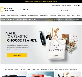 National Geographic Store Cashback