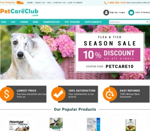 Pet Care Club 現金回饋