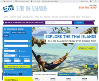 STA Travel Cash Back