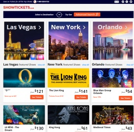 ShowTickets Cashback