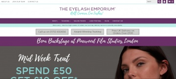 The Eyelash Emporium Cashback