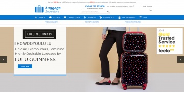 Luggage Superstore キャッシュバック