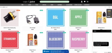 Vape and Juice Cashback