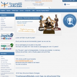 Trophies and Medals Cashback