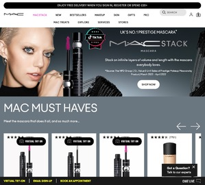MAC Cosmetics UK Cashback