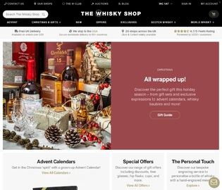 The Whisky Shop Cashback