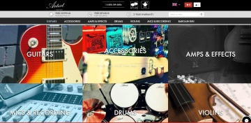 Artist Guitars UK Cashback
