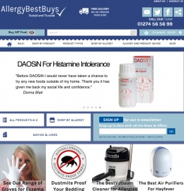 Allergy Best Buys Cashback