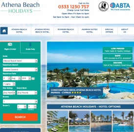 Athena Beach Holidays 返利