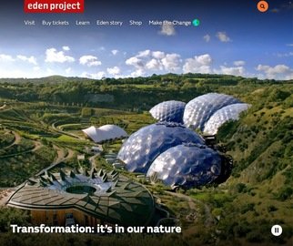 Eden Project Tickets Cashback