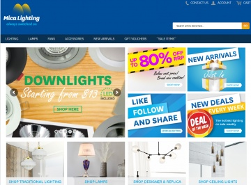Mica Lighting Cashback