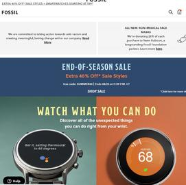 Fossil Cash Back