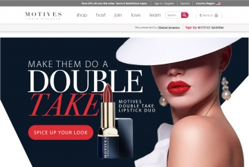 Motives Cosmetics Cashback