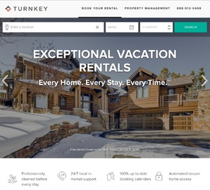 TurnKey Vacation Rentals Cashback