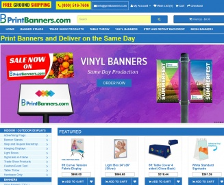 Print Banners Cashback