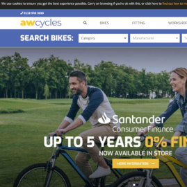 AW Cycles Cashback