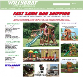 Willygoat.com Cash Back