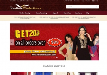 Indian Selections Cashback