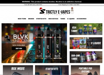 Strictly E-Vapes Cashback