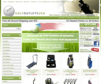 Golf Outlets USA 返利