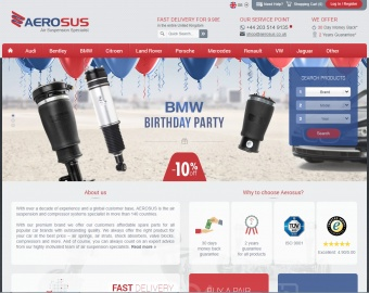 Aerosus UK Cashback