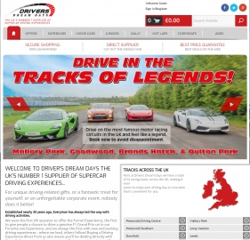 Drivers Dream Days Cashback