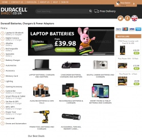 Duracell Direct UK Cashback