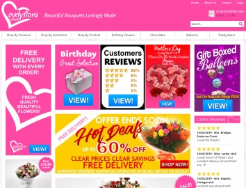Lovely Floral World Cashback