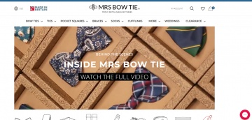 Mrs Bow Tie Cashback