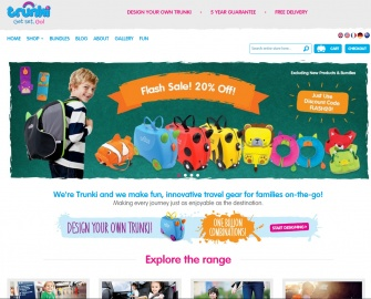 Trunki UK Cashback