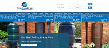 Water Butts Direct 現金回饋