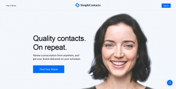 Simple Contacts Cashback