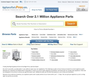 Appliance Parts Pros 返利