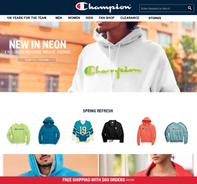 Champion Cash Back