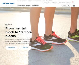 Brooks Running UK Cashback