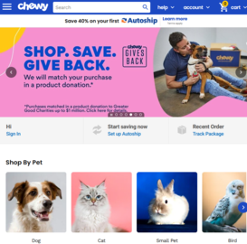 Chewy Cashback