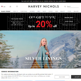 Harvey Nichols US Cashback