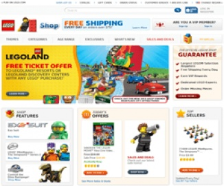 LEGO Shop Cash Back