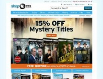 Shop PBS Cashback