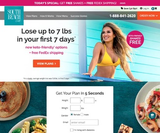 South Beach Diet Cashback