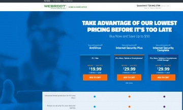 Webroot Software 現金回饋