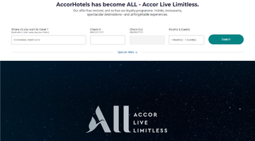 Accor Live Limitless | 雅高酒店 返利