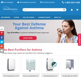 Air Purifiers America Cashback