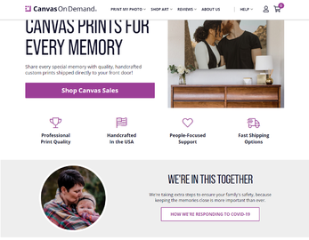 Canvas On Demand Cashback
