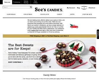 See's Candies Cashback