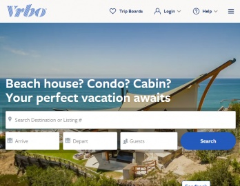VRBO.com Cash Back