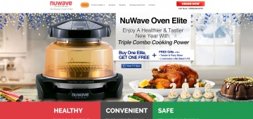NuWaveOven Cash Back