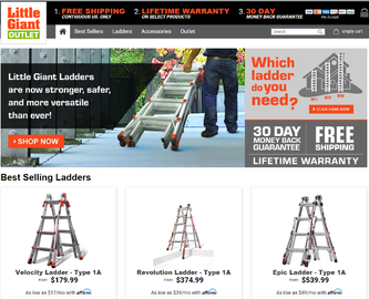 Little Giant Ladder Systems Cash Back