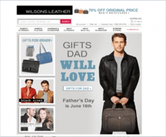 Wilson's Leather Cash Back
