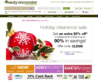 Beauty Encounter Cash Back